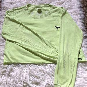 Green Pink VS Long-sleeve